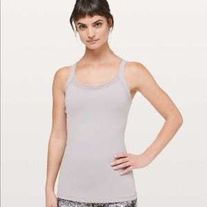 Lululemon Rally Your Heart Tank - Dark Chrome